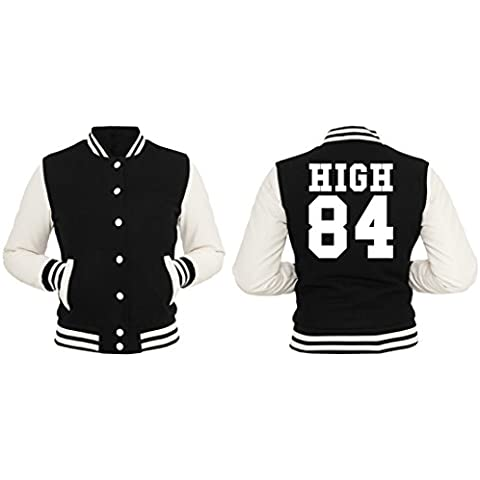 High 84 Giacca Collegio Girls Nero