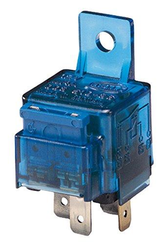HELLA 4RA 003 530-001 Relais, Arbeitsstrom, 12V, mit Halter, mit Sicherung