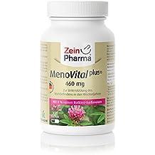 MenoVital® Plus Zinc & Vitamina C Cápsulas de Trébol Rojo, Productor Alemán ...