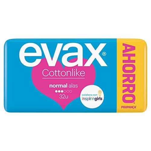 Evax Cottonlike Compresas con Perlas Activas