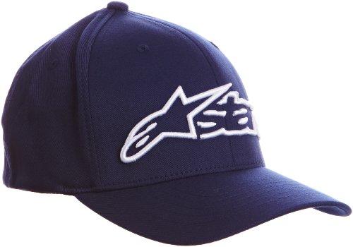 Alpinestars - Blaze Flexfit Hat - Casquette de Baseball Homme, Bleu (Navy/White), Large (Taille Fabricant:Large/X-Large)
