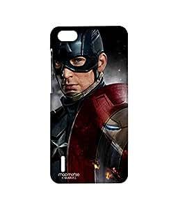 Licensed Marvel Comics Captain America Premium Printed Back cover Case for Huawei Honor 6