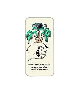 Kolor Edge Printed Back Cover For Samsung Galaxy A8 - Multicolor (4391-Ke10741SamA8Sub)