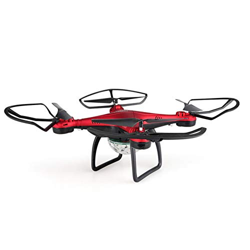 YUnnuopromi X58 Electronic Altitude Hold Remote Control RC Quadcopter Kids Helicopter Toy für Geburtstagsgeschenk Rot - Syma Rot Helicopter