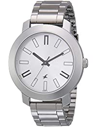 Fastrack Casual Analog Silver Dial Men's Watch -NM3120SM01 / NL3120SM01