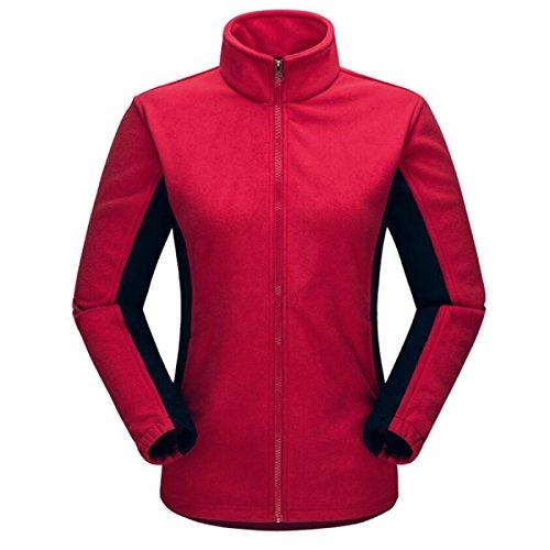 Hiver En Plein Air Escalade Manteaux De Femme red