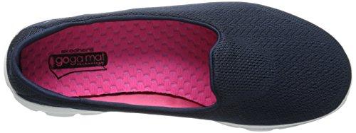 Skechers Donna Go Walk 3 - Insight scarpe sportive Azul (Nvy)