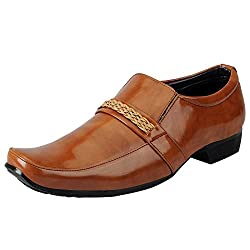 Fausto KFS55-42 Tan Mens Formal Loafers