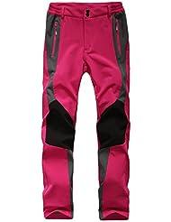 GITVIENAR pantalons de ski Hydrofuge Pantalon Coupe-vent à Séchage Étanche Rapide pour Camping et Randonnée Pêche Escalade en Plein Air Épaississement de la chaleur Hommes Pantalons