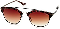 IDEE Gradient Club Master Womens Sunglasses - (IDS2115C4SG|53|Brown Gradient lens)