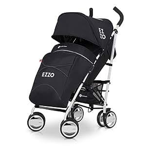 Buggy EZZO Sport Kinderwagen | Baby ab 6. Monate | Kompakt Faltbar | Farbe: Anthracite