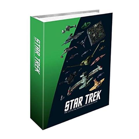 Eaglemoss Star Trek: Star Trek Starship Alien Races A4 Binder - New (BINDER ONLY NO MAGAZINES OR