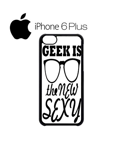 Geek is the New Sexy Nerd Swag Mobile Phone Case Back Cover for iPhone 6 Black Blanc