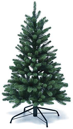 Lönartz® Naturgetreuer künstlicher Weihnachtsbaum PE-Spritzguss (ohne Beleuchtung), Höhe: 120cm / Ø95cm (PE-BO120)