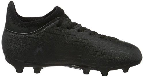 adidas X 16.3 Fg Jr, Chaussures de Football Mixte Enfant Noir (Graphit/graphit)