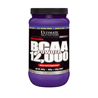 ULTIMATE NUTRITION BCAA POWDER 12,000 400 GRAMS (300g + 100g FREE!) by Europa Sports Products