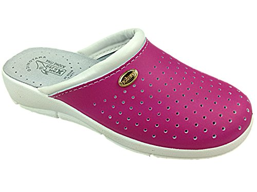 Foster Footwear - Sandali con Zeppa donna Pink