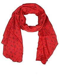 Pañuelo de Seda para Mujer con ancla de patrón de Zwilling Corazón