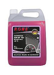 ROWE Hightec Antifreeze AN-SF 12+ READY-MIX -25 °C - 5 Liter PKW Kühler-Frostschutzmittel | Made in Germany