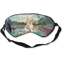 Sleep Eye Mask Cat Nature Lake Lightweight Soft Blindfold Adjustable Head Strap Eyeshade Travel Eyepatch E2 preisvergleich bei billige-tabletten.eu