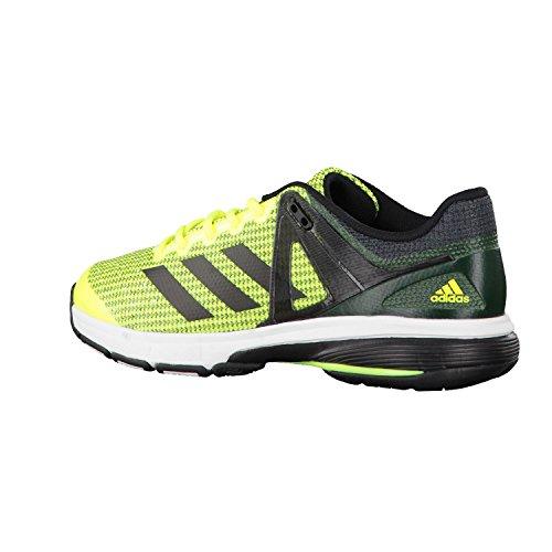 adidas Court Stabil 13, Chaussures de Handball Homme Jaune (Amasol/negbas/griosc)