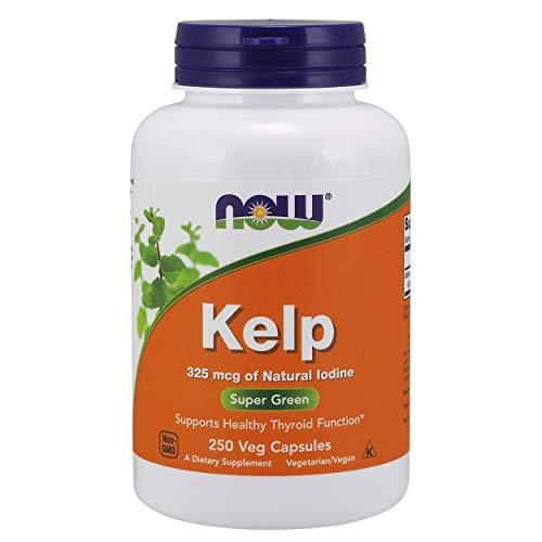 Now Foods Kelp Green Superfood Veg Capsules - 250 Capsules