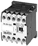 Eaton 010213 Leistungsschütz, 3-polig + 1 Schließer, 4 kW/400 V/AC3, DC-Betätigt