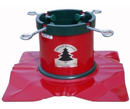 Santa 's Lösung solid-steel Weihnachtsbaum Ständer für 8Füße Bäume (Santa-dollar)