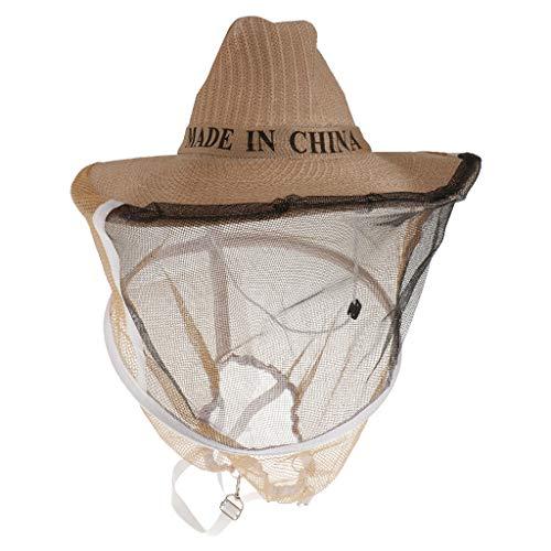 FLAMEER Sombrero de Velo de Apicultura Productos de Laboratorios Materiales de Ciencia