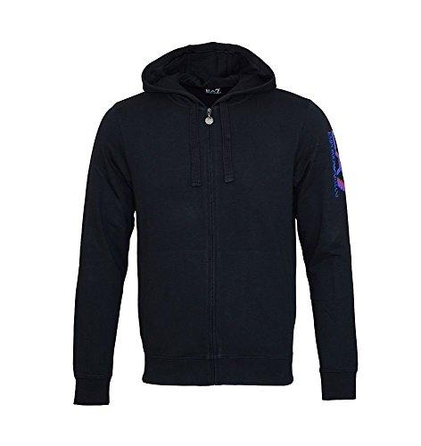 EA7 Emporio Armani sweater jacket black 6XPM65 PJ05Z 1200 Nero HW16 EA7 1 9c2089b5c41