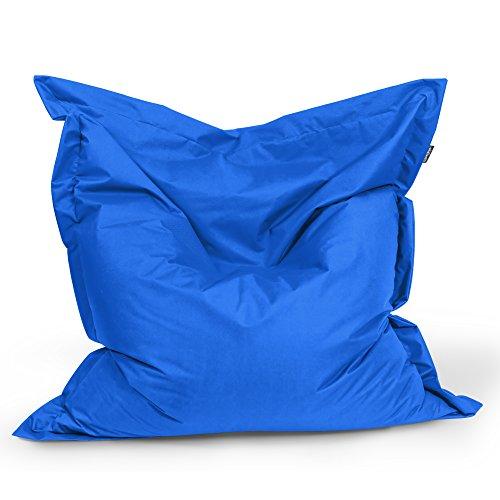 BuBiBag Sitzsack Rechteck Größe 180x145 cm (blau)