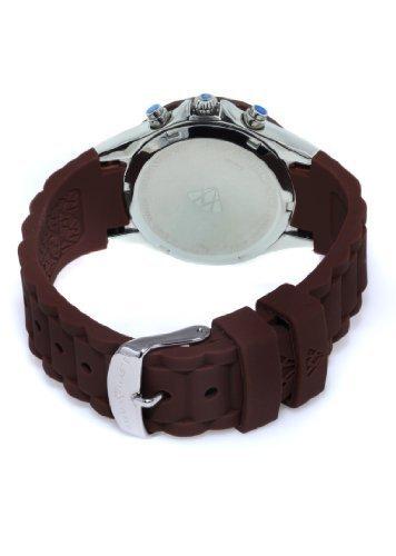 cfb117933f7 Aqua Master Women s Tahitian Diamond Jelly Bean Chronograph Brown Watch  W 324