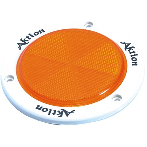 Aktion Safety AK956 Reflector, Yellow, Pack of 25