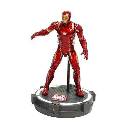 Xuping (mark45 - Figura Decorativa de Anime de Iron Man, Color Rojo, 30 cm, colección de Regalo de Poliuretano, diseño de Anime de Los Vengadores