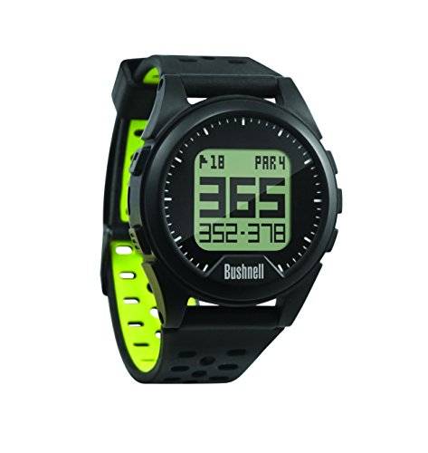 Bushnell Unisex's Neo Ion Golf Watch, Black/Green, Compact