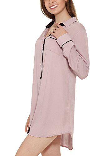 Yulee - Chemise de nuit - Femme rose bonbon