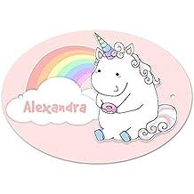 NAMENSSCHILD Autokennzeichenform MINI Alexandra Albatros