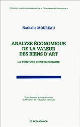 Analyse économique de la valeur des biens d'art