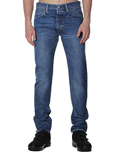Levi's Herren 501 Skinny Jeans, Blau, 30W x 34L (Siena Springs)