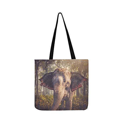 Elefantes Chitwan Jungles Nepal SHAOKAO SHAOKAO Bolso de mano Bolso de bandolera...