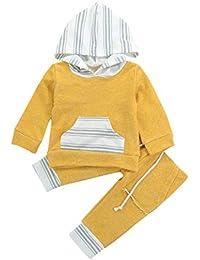 Ropa para Bebe, 2018 Niños Niñas Otoño Invierno de Manga Larga Camiseta y Pantalones Cortos Ropa Conjunto