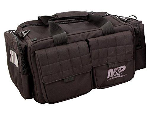 Smith & Wesson Gear MP Officer Tactical Range Tasche mit wetterbeständigem Material für Gun Pistole Shooting Munition Zubehör und Jagd -
