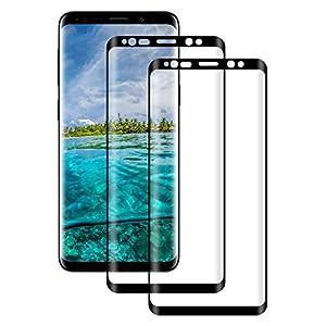 Snnisttek 0.26mm Panzerglas Schutzfolie für Samsung Galaxy S9-HD und Hoch Empfindlichkeit 9H Härte Displayschutzfolie Anti-Kratzer Bläschen Fingerabdruck 2 Stück KS9ZASIFU0920