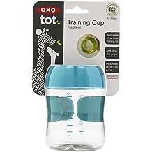 OXO Tot - Vaso de aprendizaje (200 ml), color turquesa