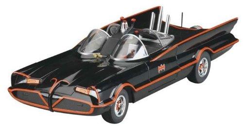 Batman Batmobile, TV-Serie 1966, Modellauto, Fertigmodell, Mattel 1:18