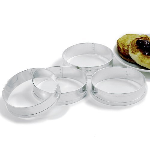 Norpro Muffin Ringe, transparent