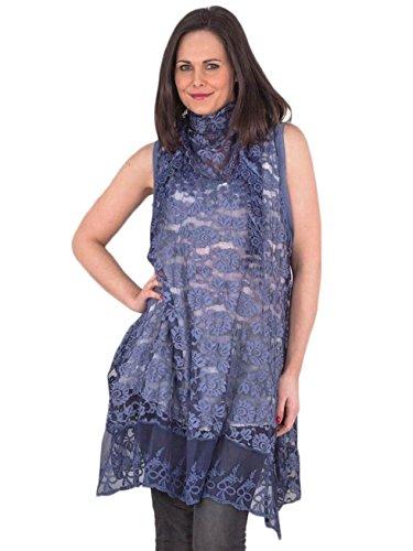 Love My Fashions -  Maglia a manica lunga  - Camicia - Donna Navy blue
