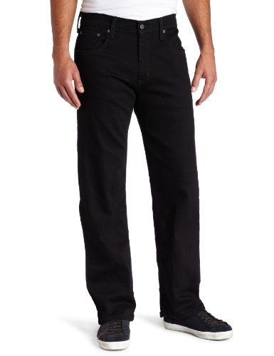 Levi's Men's Black 569 Loose Fit Jeans