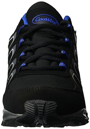 Conway 607433, Sneakers Basses Mixte Adulte Noir (Schwarz/royal)