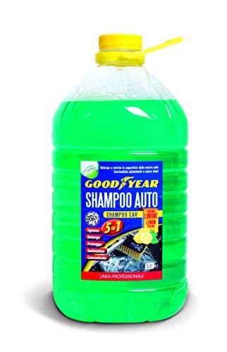 Goodyear 77818 Shampoo Detergente per Auto al Profumo di Limone, 5 L